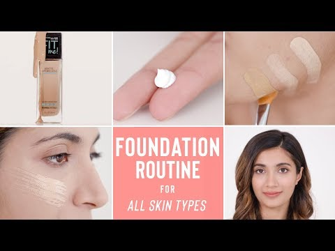 HOW TO GET LONG-LASTING & FLAWLESS MAKEUP ALL DAY LONG |  Base Routine For All Skin Types & Tones