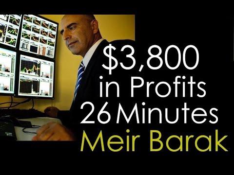 Stock Trading - $3,800 in Profits - Meir Barak