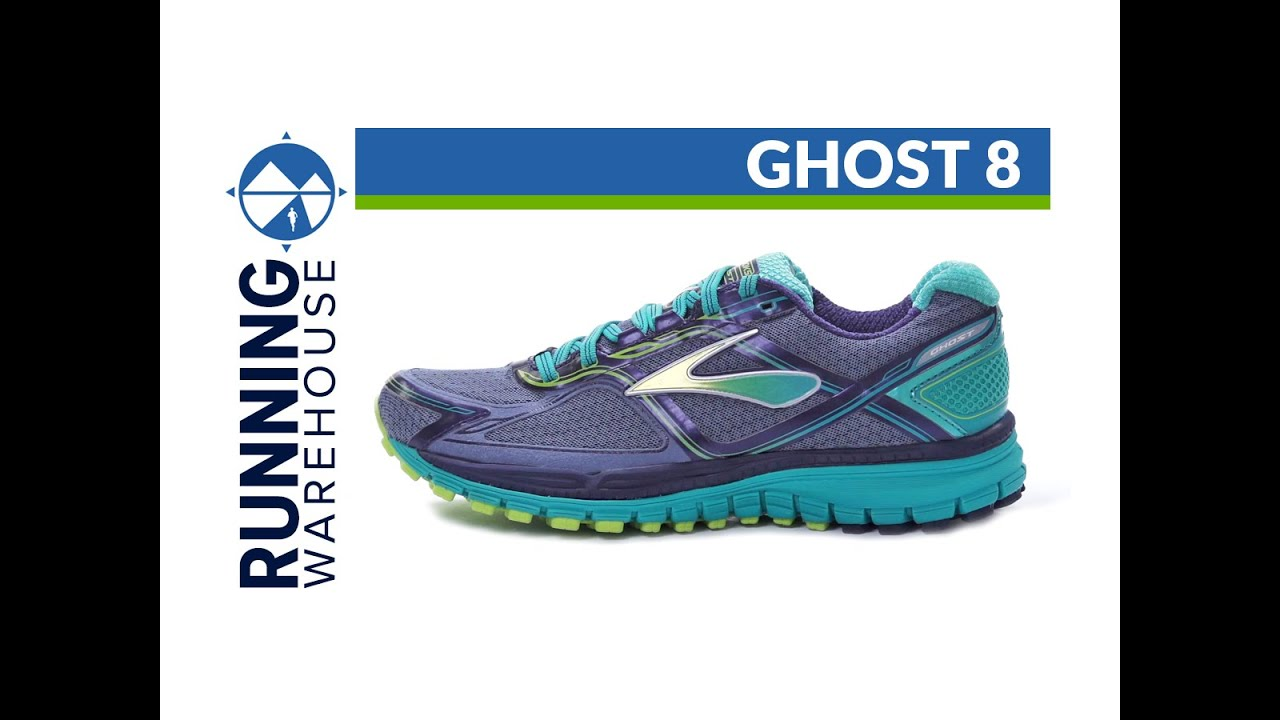 98090c4bac3 Brooks Ghost 8 for women - YouTube
