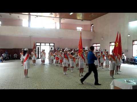 Thi trống đội - trường THCS Huỳnh Bá Chánh