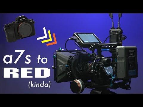 Turning My Sony A7s Into A CINEMA Camera!