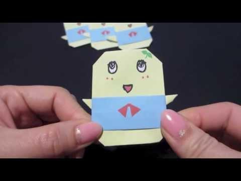 ハート 折り紙 折り紙でキャラクター : youtube.com