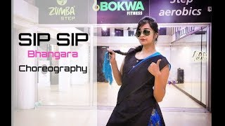 SIP SIP BHANGARA Video |  Jasmine Sandlas ft Intense  | Choreography by Omkar Dalvi