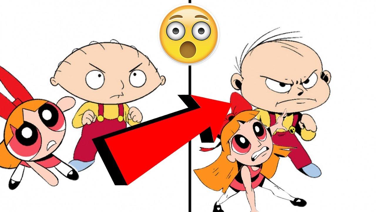Герои мультфильмов, нарисованные в реалистичном стиле ...