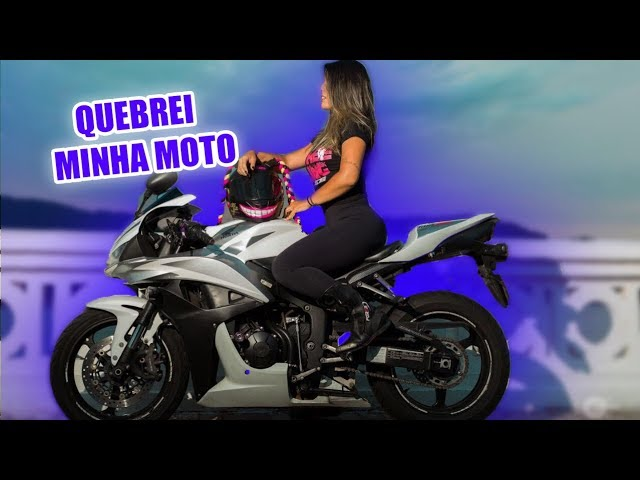 UMA SEMANA SEM MINHA MOTO 😭 - Thays Rx