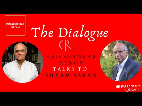 The Dialogue - Shyam Saran And Shivshankar Menon Discuss Post COVID-19 World