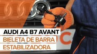 Cómo cambiar la bieletas de suspension trasera en AUDI A4 B7 AVANT INSTRUCCIÓN   AUTODOC