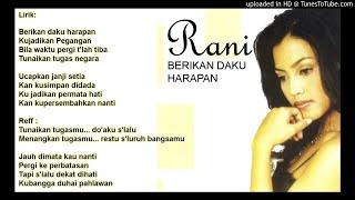 Gambar cover Lirik Lagu Tembang Kenangan - Berikan Daku Harapan by Rani