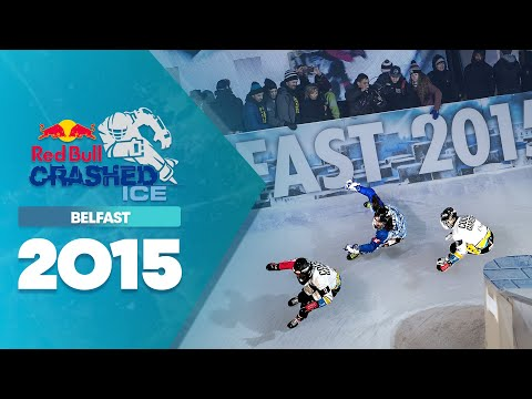 3v3 Team Ice Cross Battles - Red Bull Crashed Ice 2015