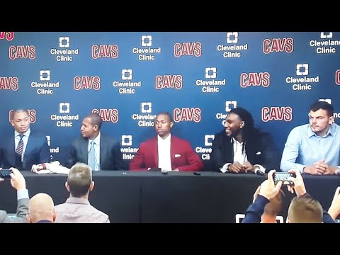 Cavs Welcome Isaiah Thomas To Cleveland