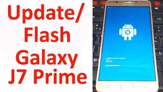 How to Flash/Update/Fix An Error Occured while Updating Galaxy J7 Prime