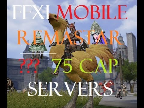 FFXI Theory Crafting Remaster and 75 Cap Servers