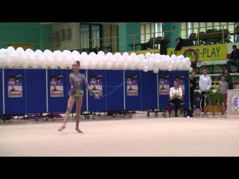 Denisa Mailat CS Olimpia Bucuresti Rope Cupa Romaniei 2015