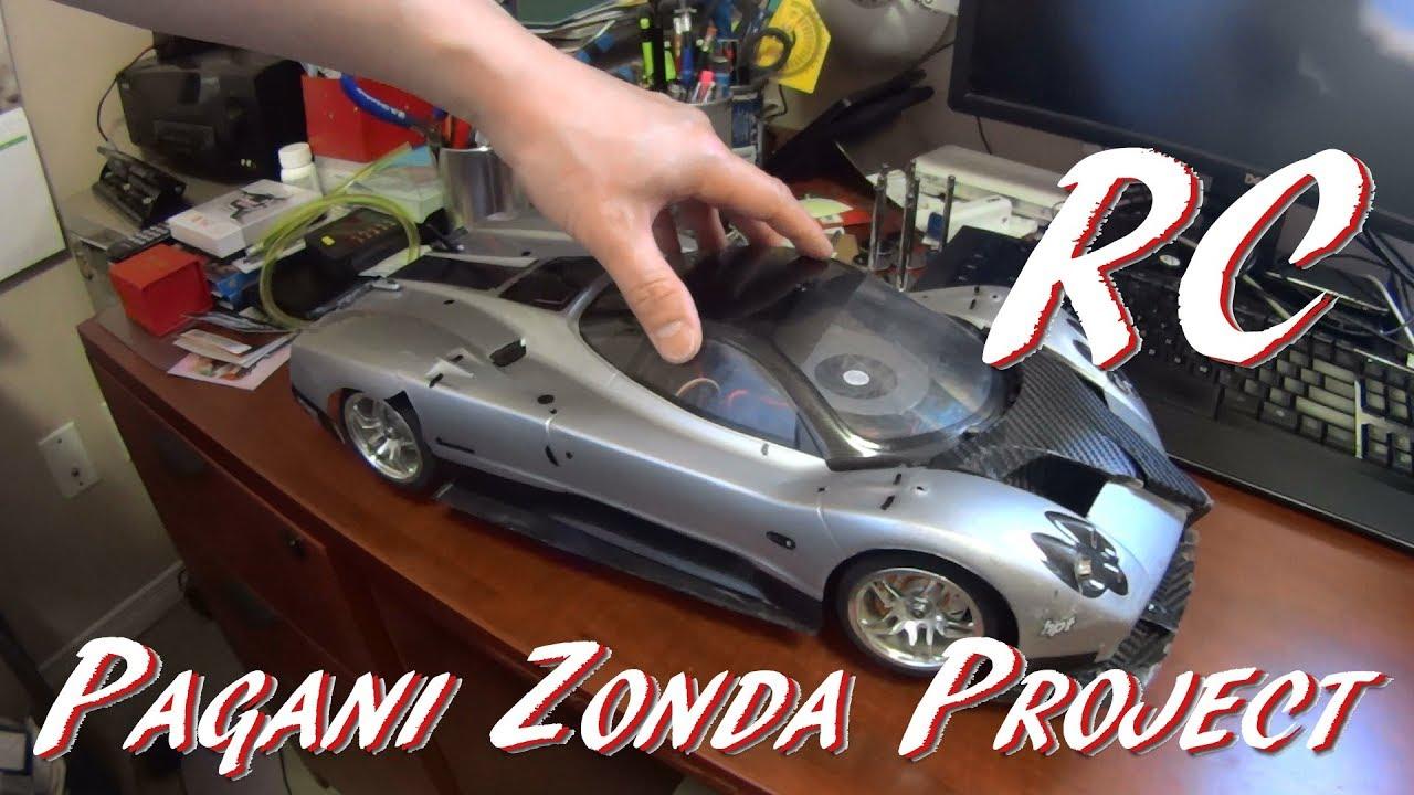 Update Real Rc Aerodynamics Custom Pagani Zonda R Rc