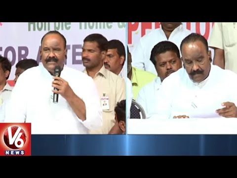 Home Minister Nayani Narasimha Reddy Speaks Over Cable Operators Problems | Hyderabad | V6 News