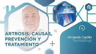 Charla sobre #Artrosis del jefe de traumatología Armando Castillo