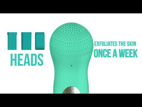 Silicone Facial Cleansing Brush with Sonic Vibrations for Efficient Face Cleansing