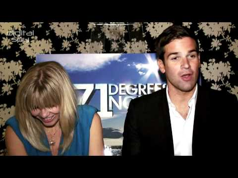 Kate Thornton and Gethin Jones on '71 Degrees North'