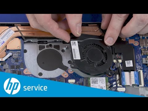 How to Replace the Fans | HP Pavilion 14 Notebook