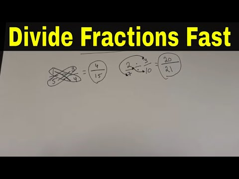 Divide Fractions Fast With This Easy Math Trick