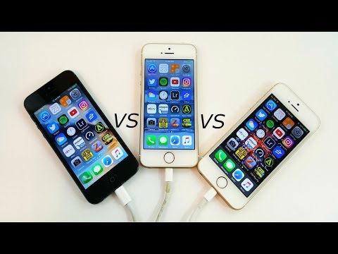 iPhone 5 vs iPhone 5S vs iPhone SE (Speed Test)