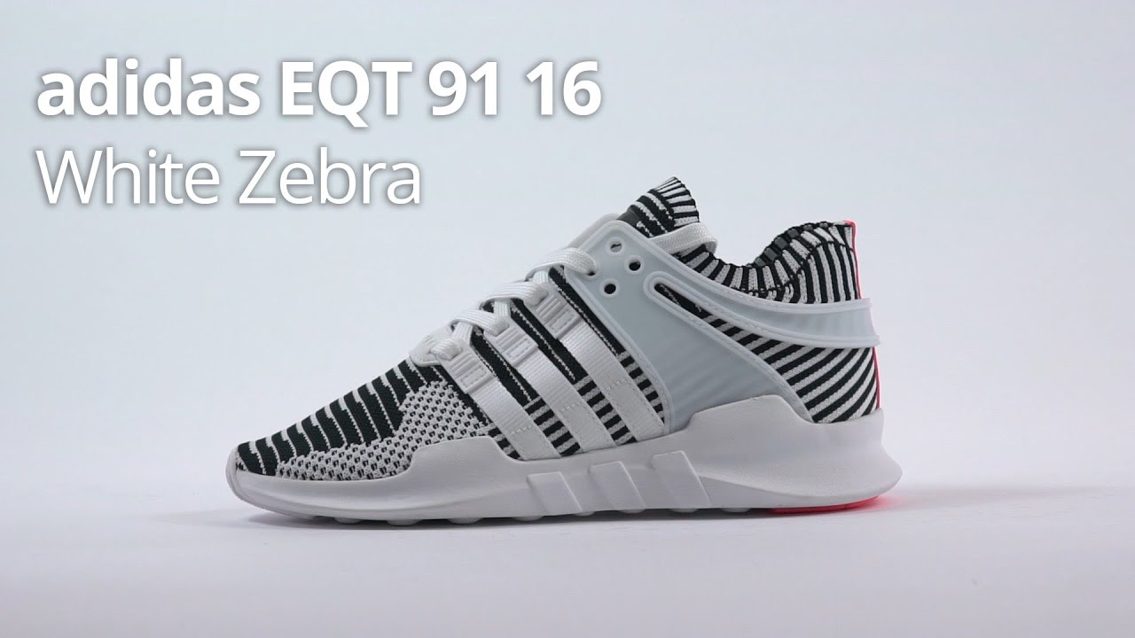 official photos ee269 b138b adidas EQT ADV White Zebra 91/16 - Unboxing, Review & Sizing
