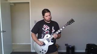 Anthrax - Monster At The End (Guitar Cover)