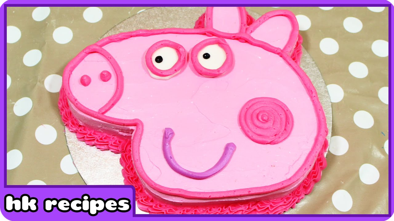 Peppa Pig Birthday Cake DIY Quick And Easy Recipes Fun Food - Colorful diy kids cakes
