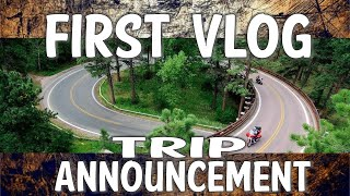 Gambar cover Harley MotoVlog Upcoming Ride Report Black Hills Teton DK Custom