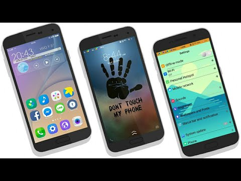 Vivo Y53  itz Theme - Samsung S6 || Funtouch 3 0 Themes
