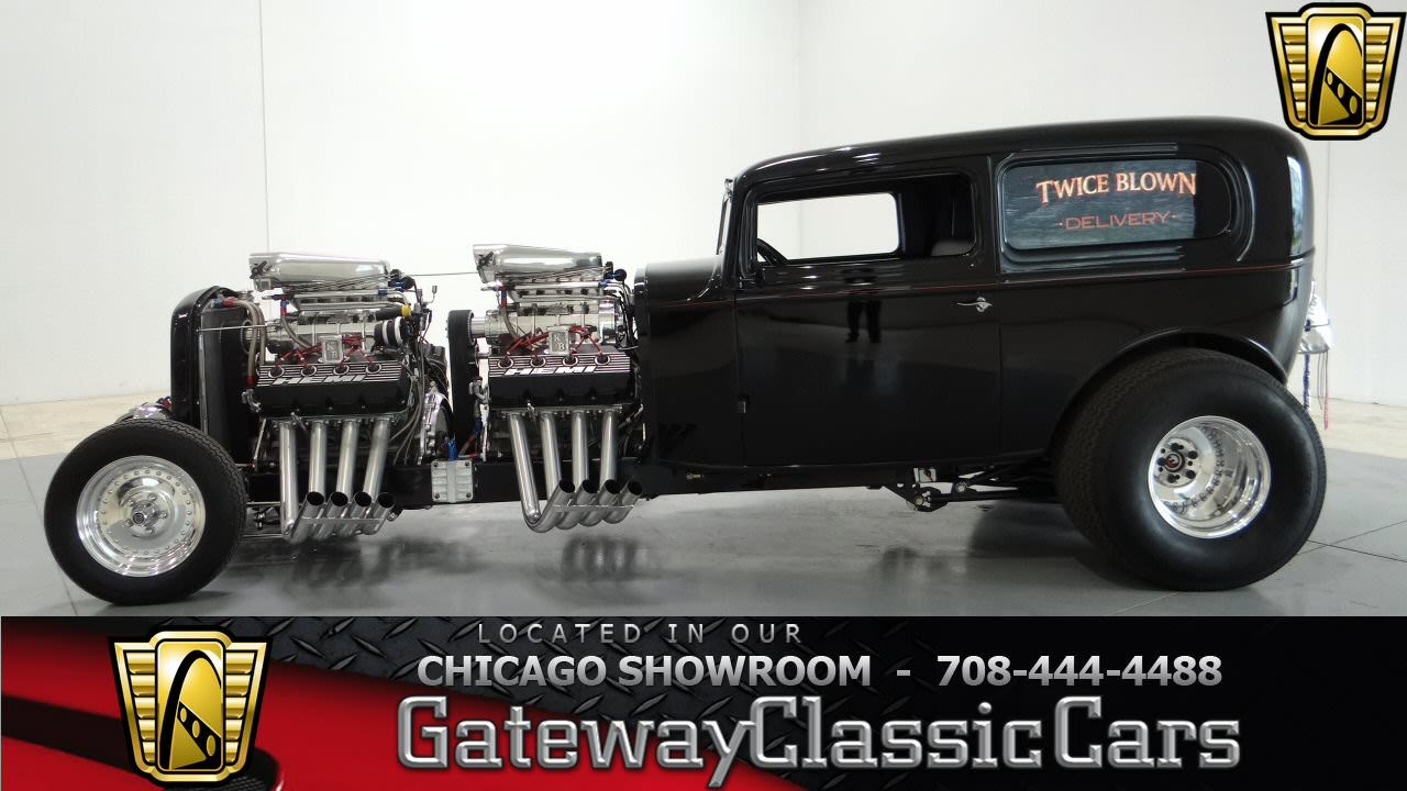 1932 Ford Sedan Delivery Custom Gateway Classic Cars Chicago #732 ...