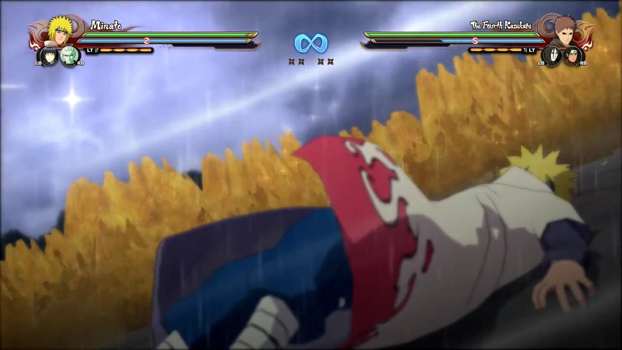 Naruto shippuden ultimate ninja storm 4 minato hinata for Cuarto kazekage vs orochimaru