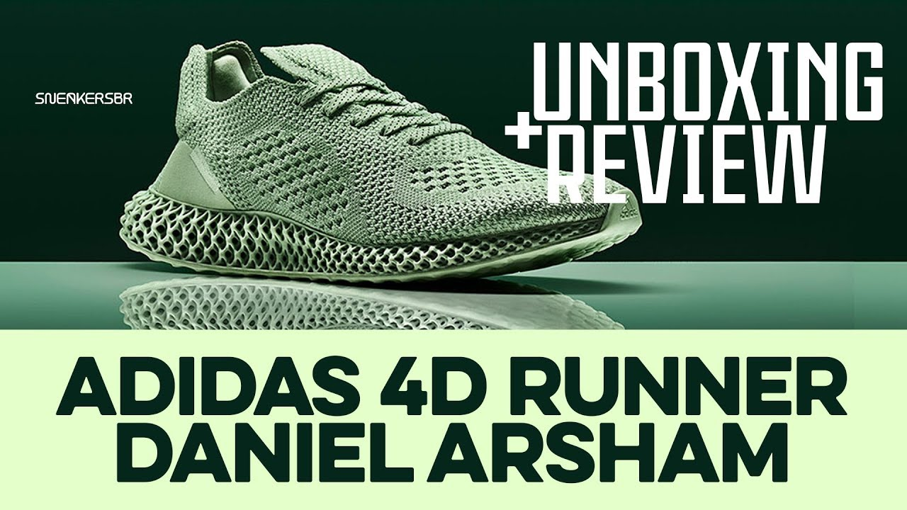 more photos 8b4fb b34f5 Repeat UNBOXING+REVIEW - adidas 4D Runner 'Daniel Arsham' by ...