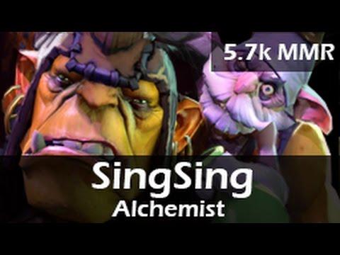 863: SingSing as Alchemist Mid(D) ft. Tucker, Autodestruction - 5.7k MMR Ranked DOTA 2 Gameplay VOD
