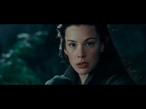 반지의제왕 명장면)아르웬과 나즈굴의 추격전, 아르웬의 소환술 /LOTR Arwen&Nazgul chase scene