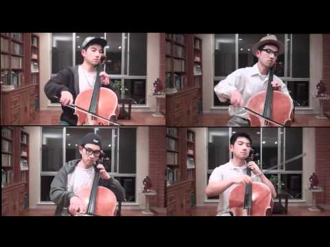 Canon in D by Pachelbel, Cello Quartet