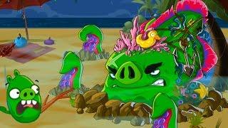 Мультик игра Angry Birds Epic #80 ОПАСНОСТЬ ИЗ ПУЧИНЫ веселое развлекательное видео для детей #КИД