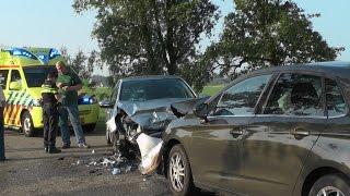 [03.07.'15] Forse schade na frontale aanrijding Hesseweg Augsbuurt
