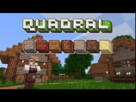 Minecraft : Pack de texture Quadral PC-XBOX 1 - YouTube