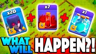 WHAT WILL HAPPEN?! New Clash of Clans Update Witches SWARM!