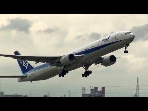 [ITM/RJOO] ANA Boeing 777-381 [JA753A] take-off [伊丹空港・全日空]