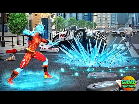 Snow Storm Superhero Miami Vice City New Game / Android GamePlay FHD