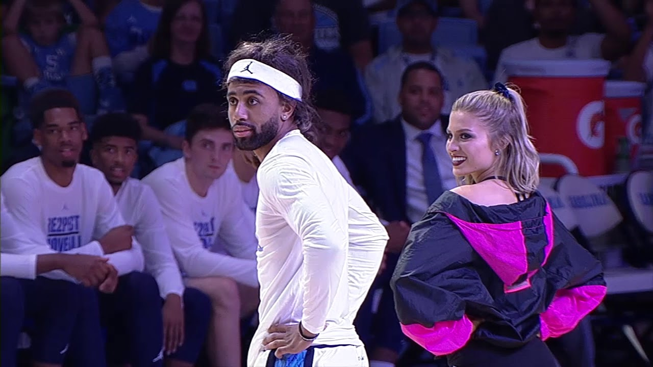 ced4b4186eff6b Joel Berry during the upperclassmen dance at Late Night with Roy. Photo  courtesy of UNC Athletics.