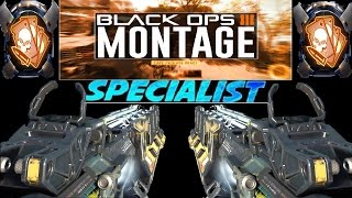 Quad Feed with Every Specialist Montage! (Call of Duty: Black Ops 3)