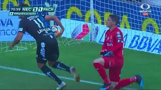 Gol de J. Barreiro | Necaxa 2 - 2 Pachuca | Liga MX - Clausura 2019  - Jornada 15 | LIGA Bancomer MX