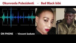 BAD BLACK_Poliisi emukunyizza kuby'okuvvoola Pulezidenti_MC IBRAH INTERVIEW