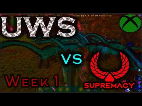 UWS VS SUPREMACY - Week 1 - Attack of the clowns