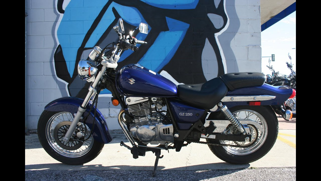 2007 suzuki gz250 motorcycle for sale only 1189 miles youtube