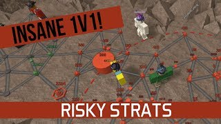 INSANE MATCH - Risky Strats [ROBLOX]