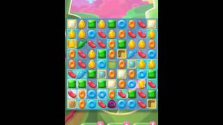 Candy Crush Jelly Saga Level 100 New (23 Moves) No Boosters